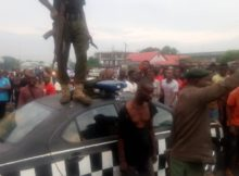 A Man Who Stabbed A Girl To Death In Owerri Rescued By Police