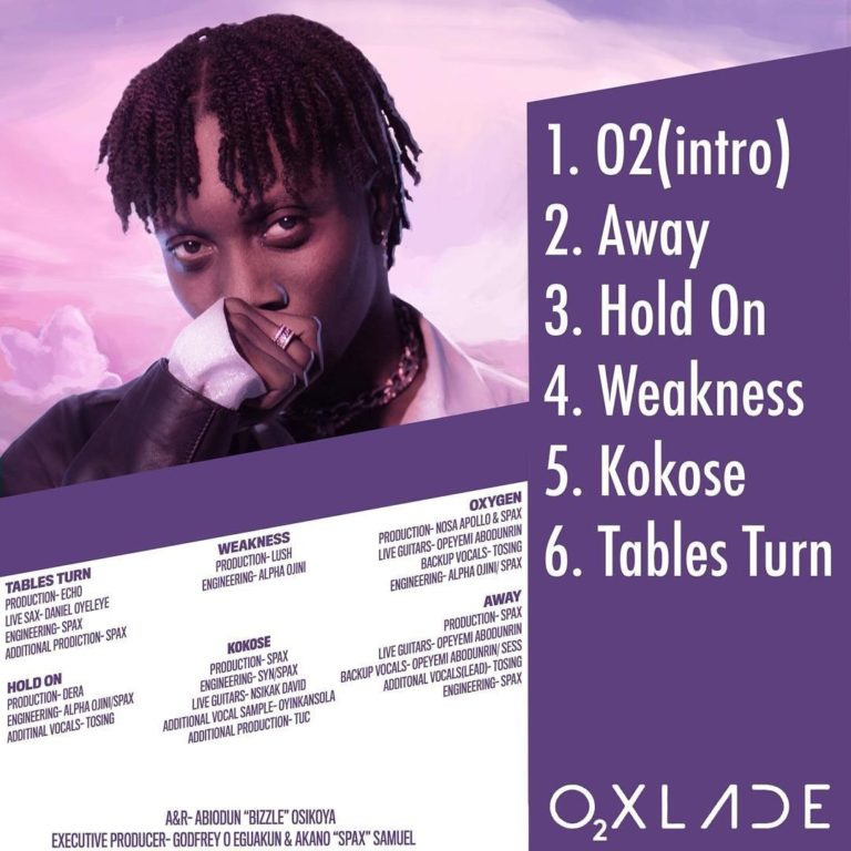 Oxlade - Weakness