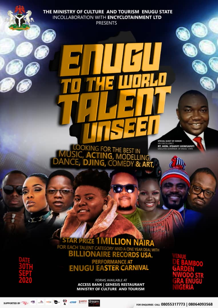 "Enugu State Presents ""Enugu To The World Talent Unseen"" Show"